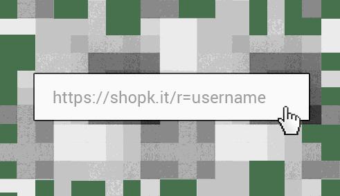 Link de afiliado Shopkit