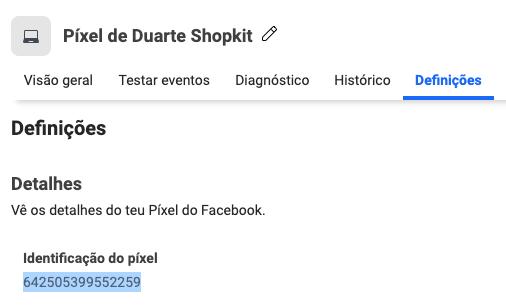 Criar Facebook Pixel