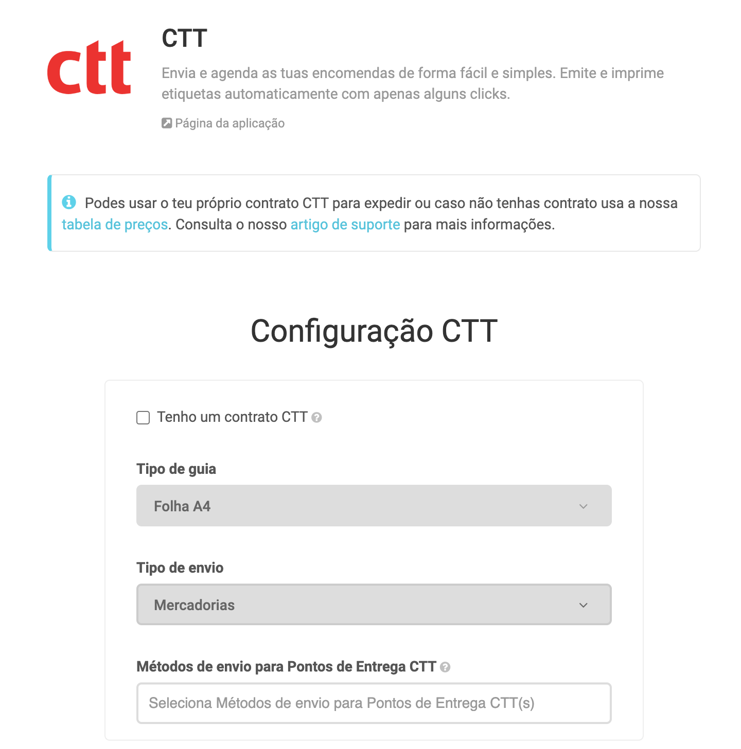 App CTT Expresso