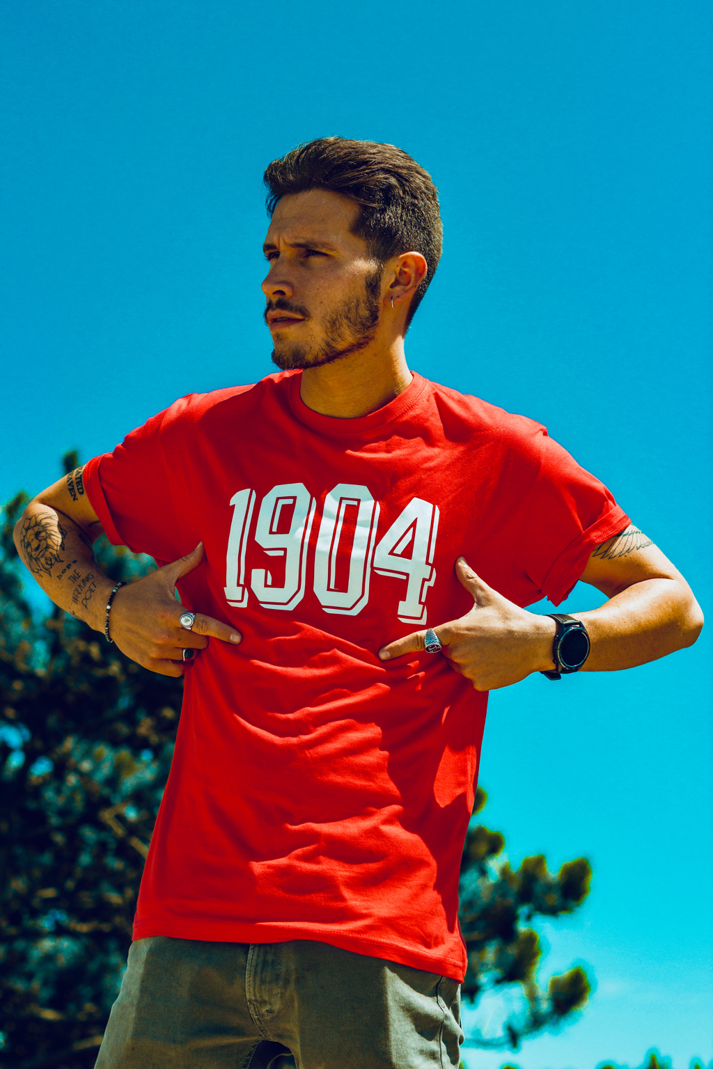 T´shirt 1904 Total Red Deluxe collection