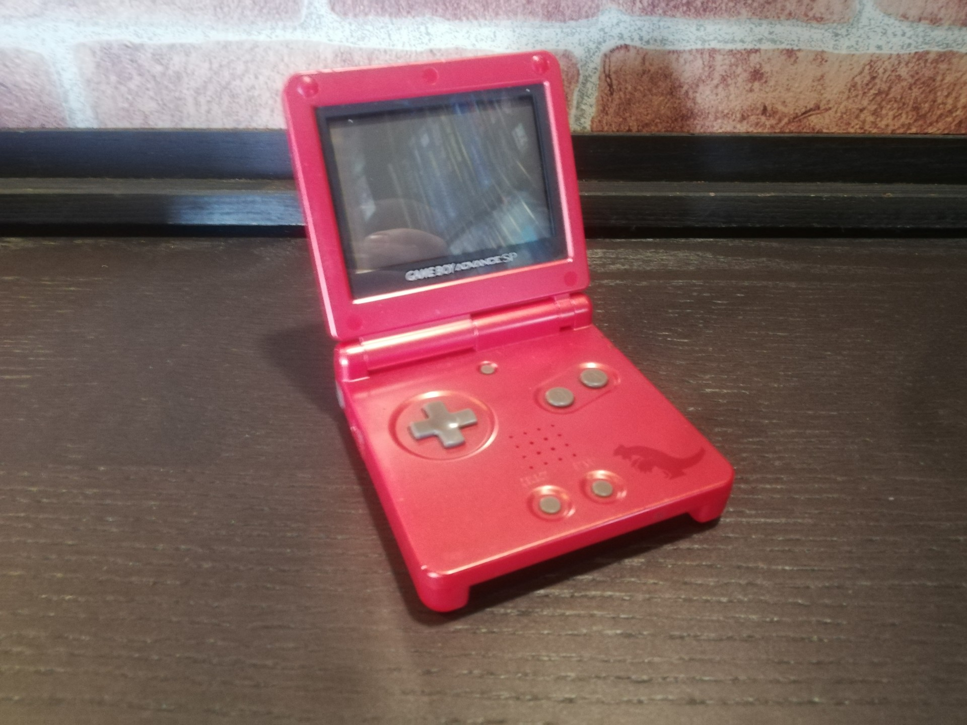 Gameboy Advance SP Groudon Limited Edition