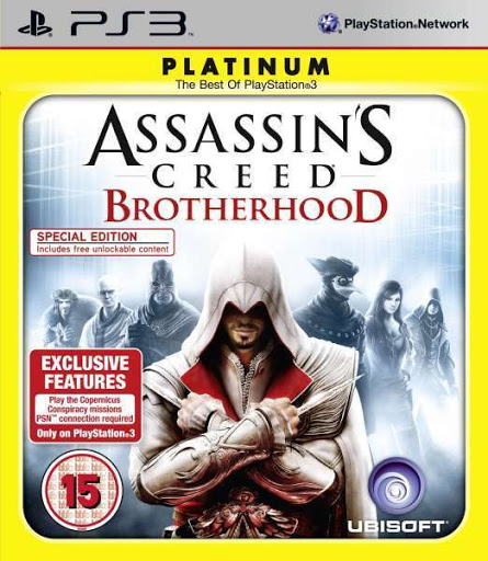 Assassin's Creed: Brotherhood (Platinum) [Completo] - PS3
