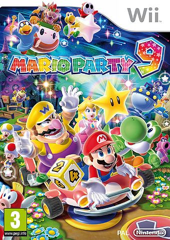 Mario Party 9 (Selects) [Completo] - WII