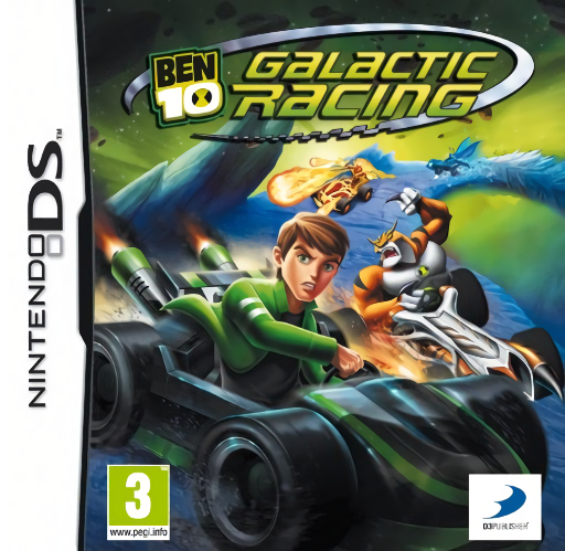 Ben 10: Galactic Racing [Completo] - NDS
