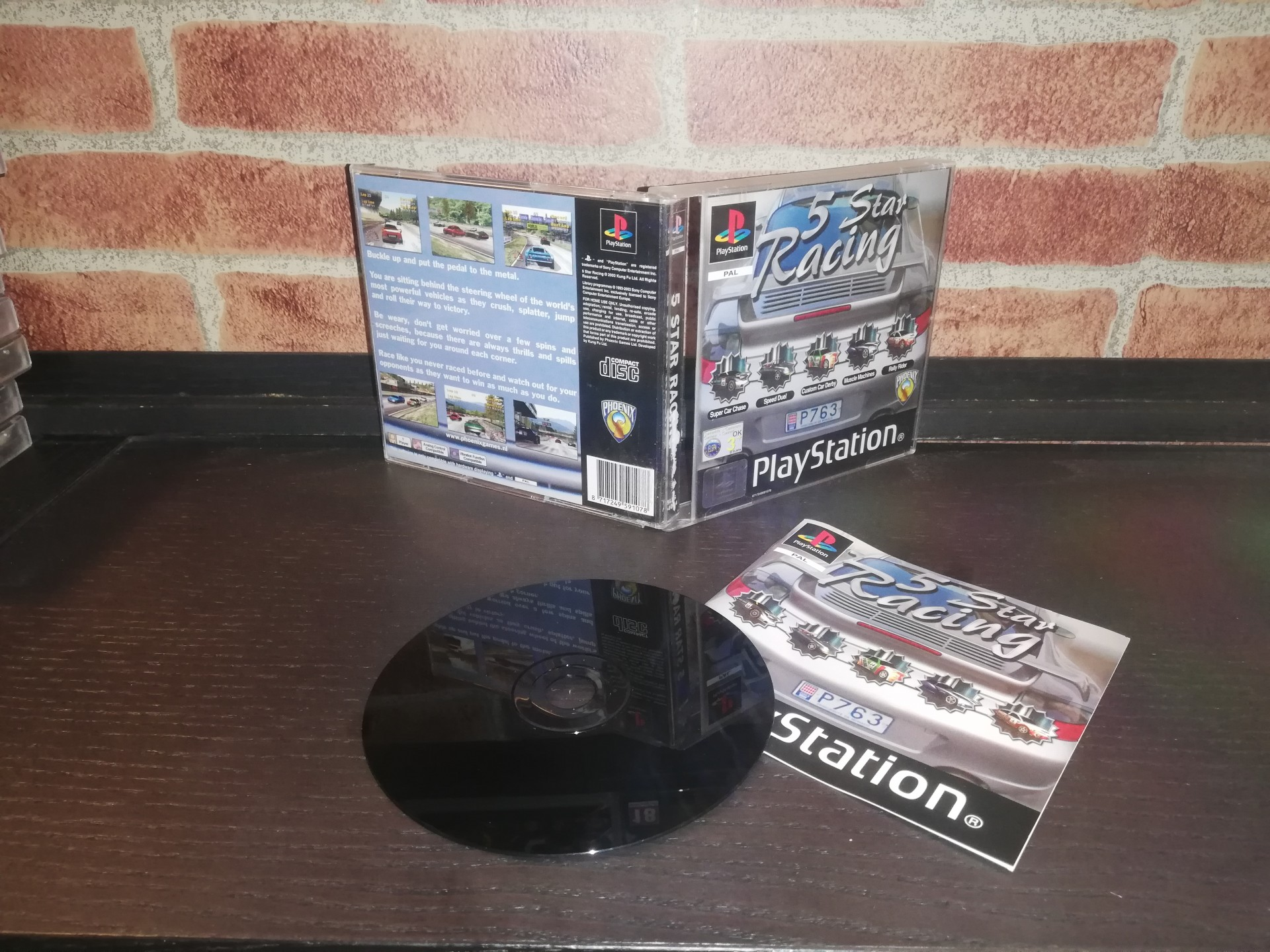 5 Star Racing [Completo] - PS1