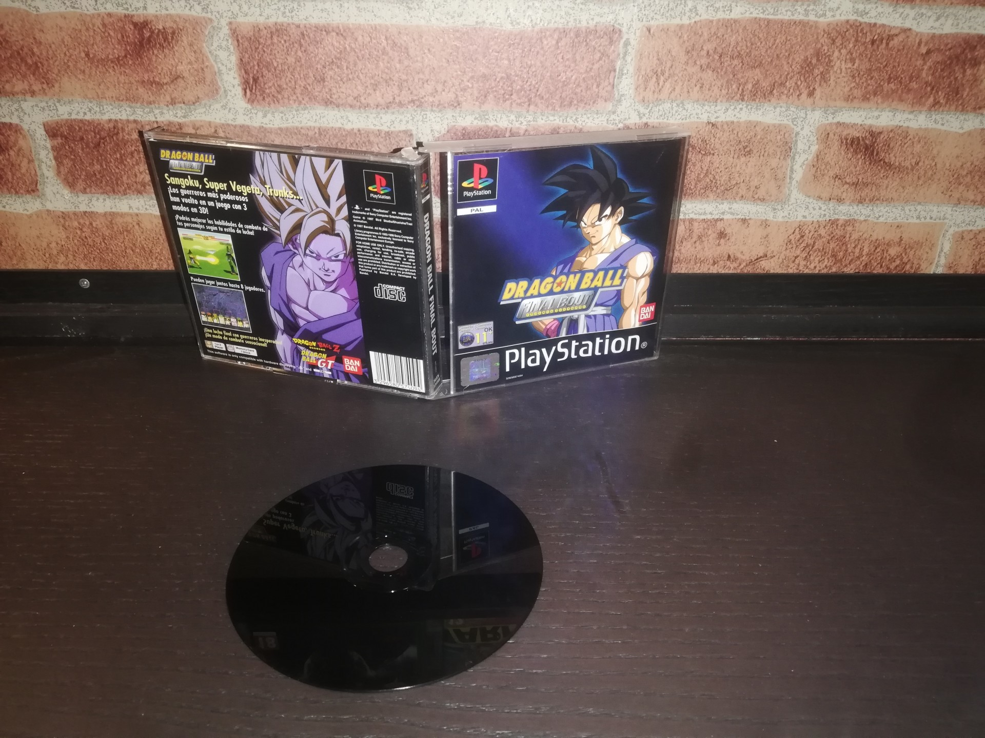 Dragon Ball: Final Bout [Completo] - PS1