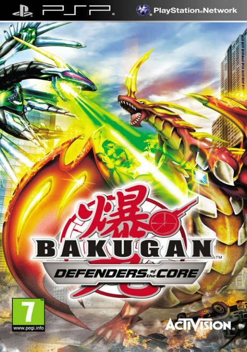 Bakugan: Defenders of the Core [Completo] - PSP