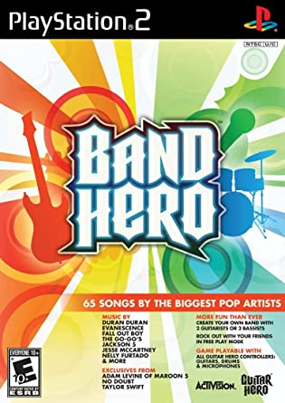 Band Hero [Completo] - PS2