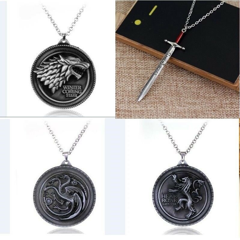 Medalhão Game Of Thrones