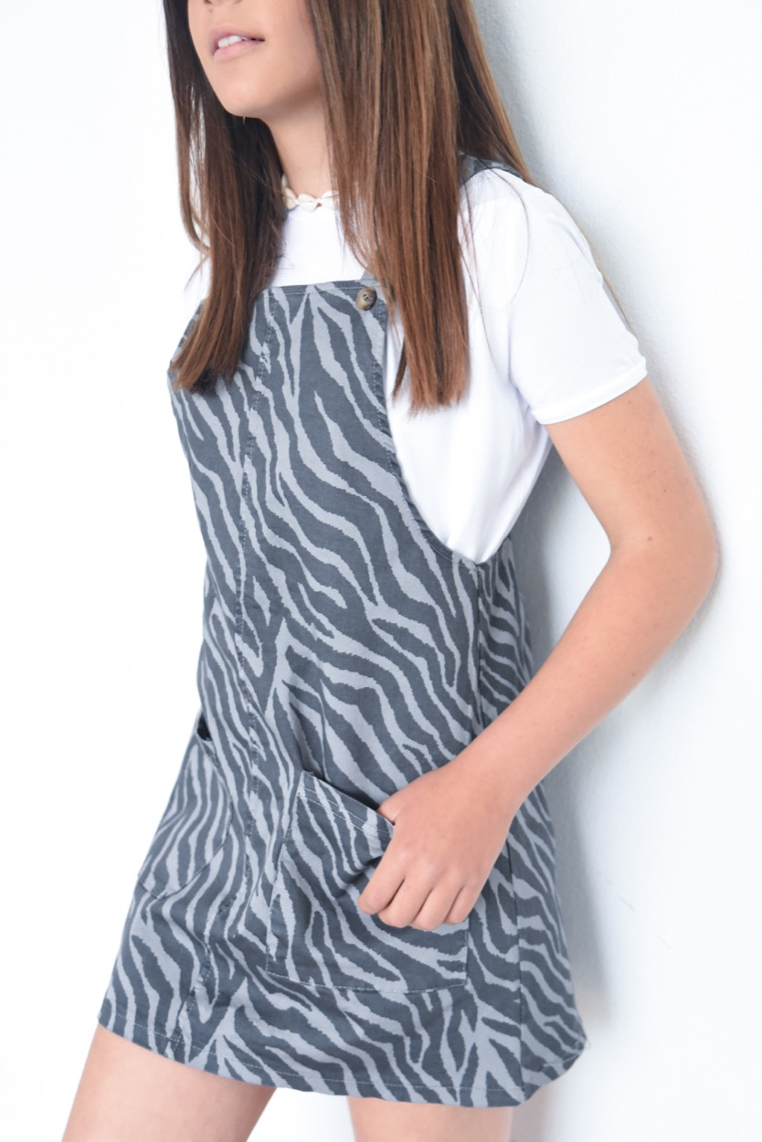 saia jardineira zebra