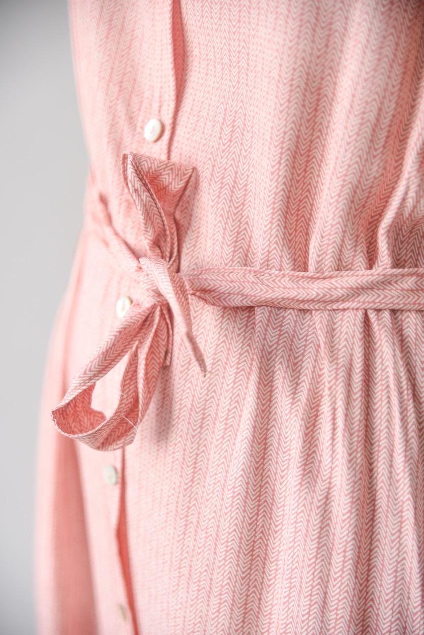 vestido camisa espinha