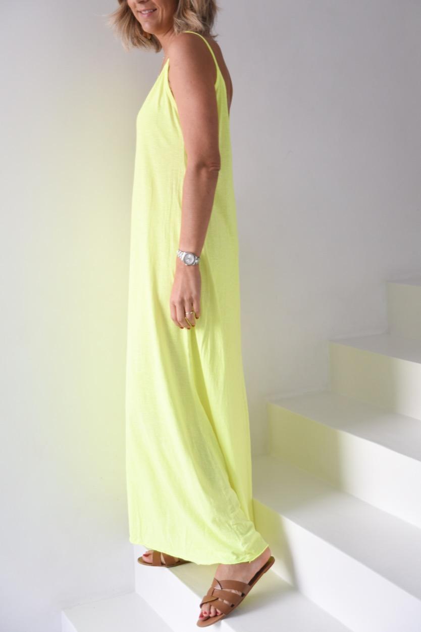 vestido amarelo estrela