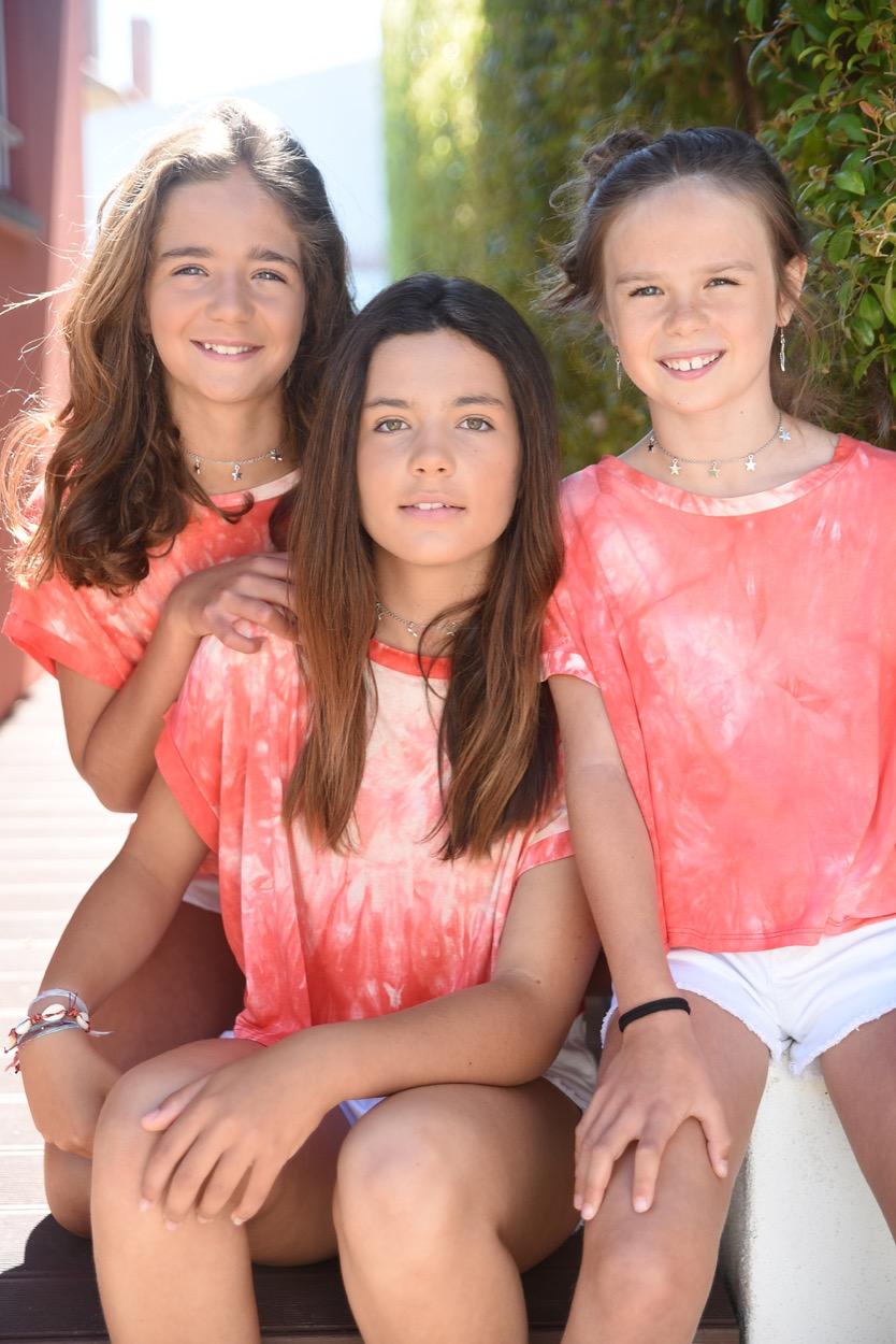 t-shirt machada coral