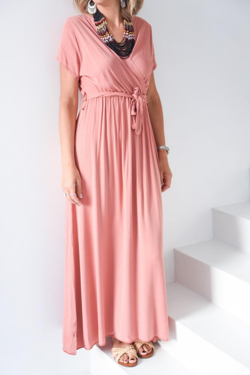 vestido comprido traçado