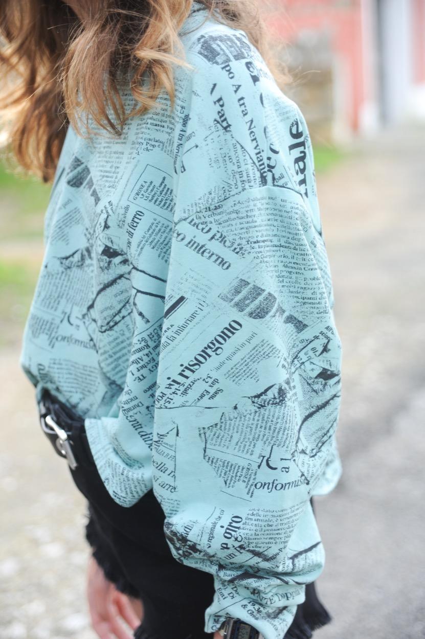 sweatshirt jornal