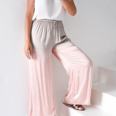 calças cetim degrade