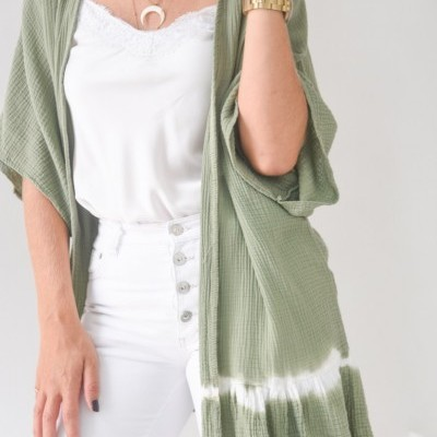 kimono barra manchada