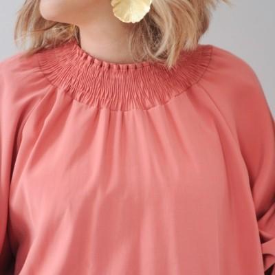 blusa coral elasticos