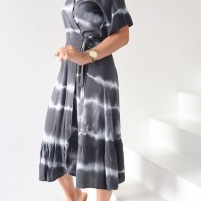 vestido traçado manchado