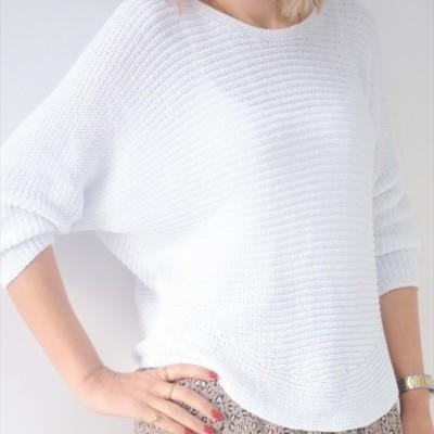 camisola branca linha