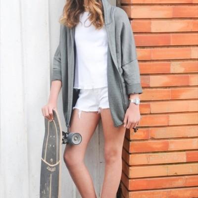 casaco pontilhado