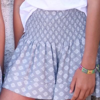 calções elastico cintura