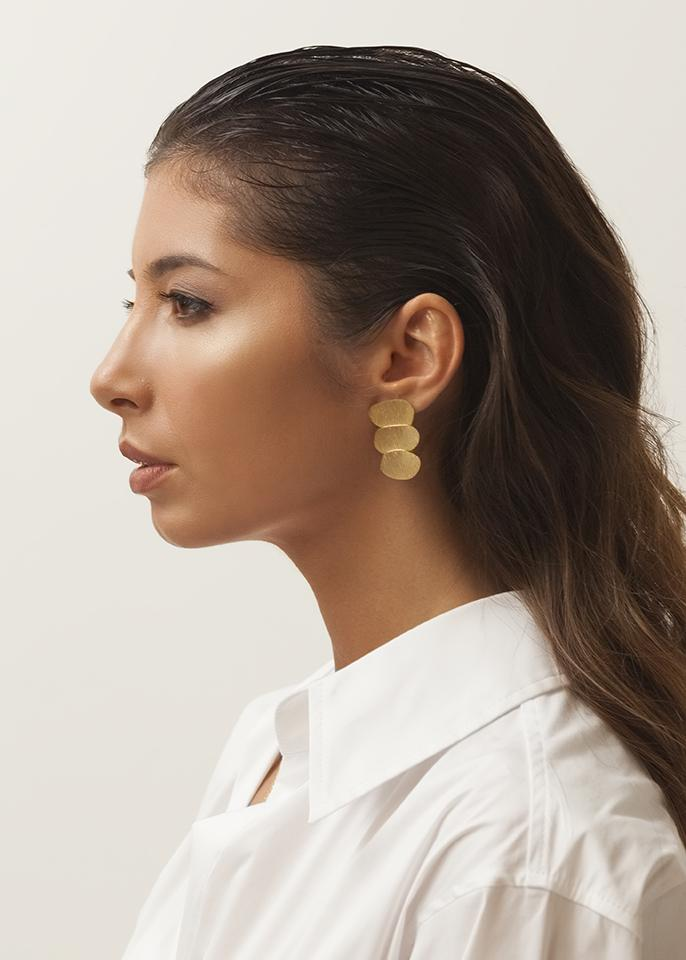 Brincos Golden - AIM JEWELLERY