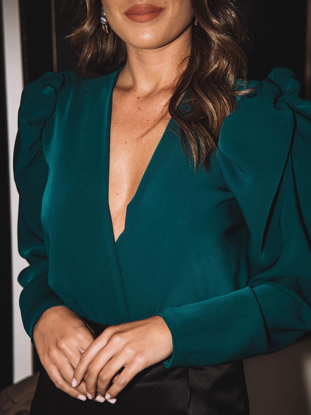 Body Verde Garrafa - KAOÂ
