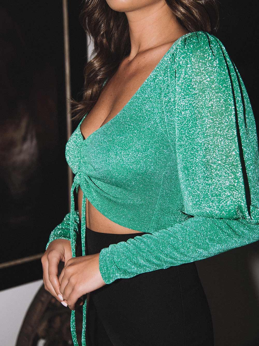 Top Verde Lurex - KAOÂ