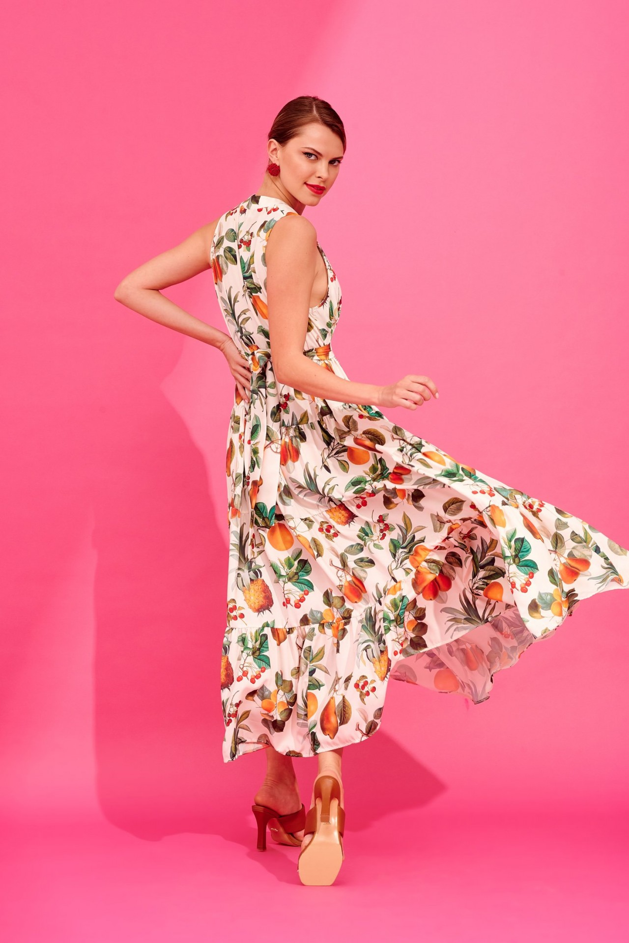 IACOBELLA DRESS (IVORY) - KARAVAN CLOTHING