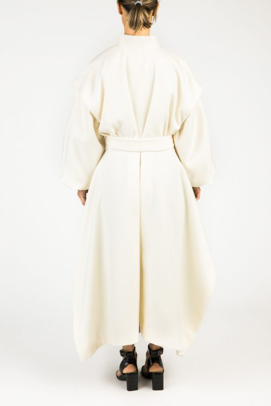 Louvre Coat - MISSES WHITE