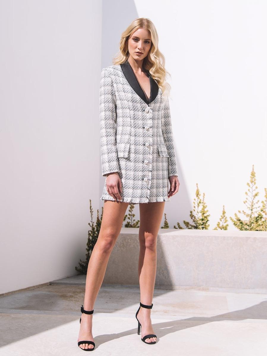 Vestido Blazer Tweed - KAOÂ