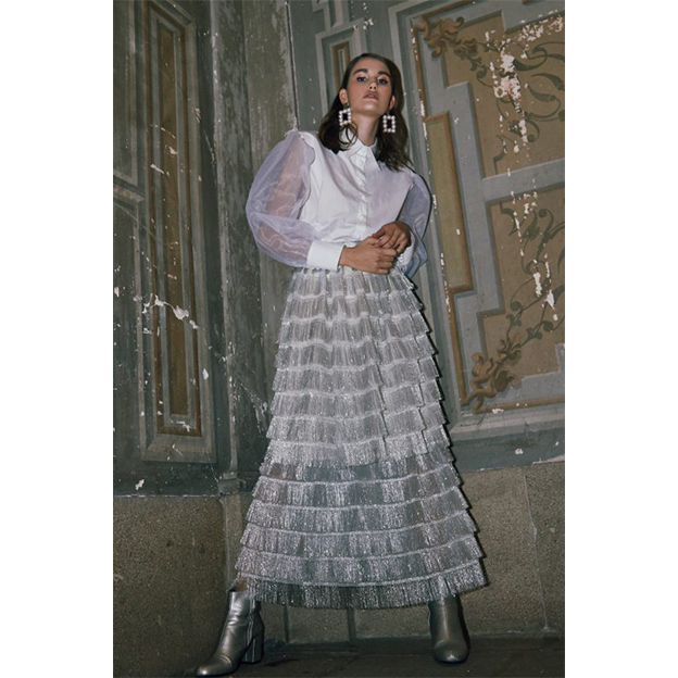 Paris Skirt - MISSES WHITE