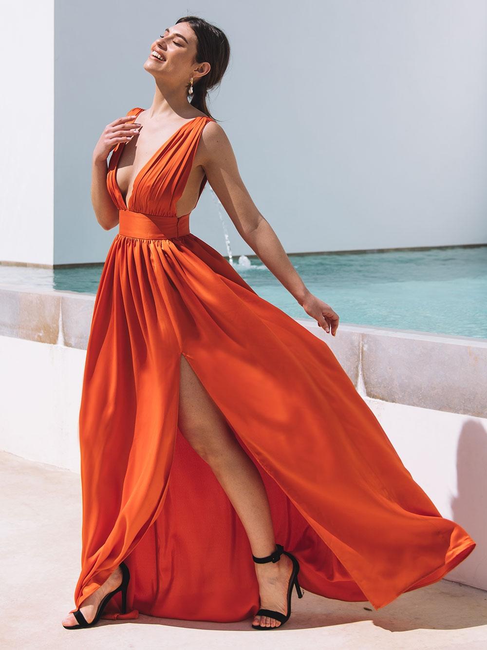 Vestido Laranja - KAOÂ