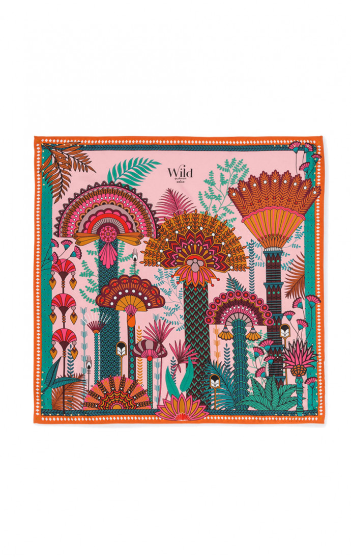 SCARF PALMITO PINK - WILD PARIS