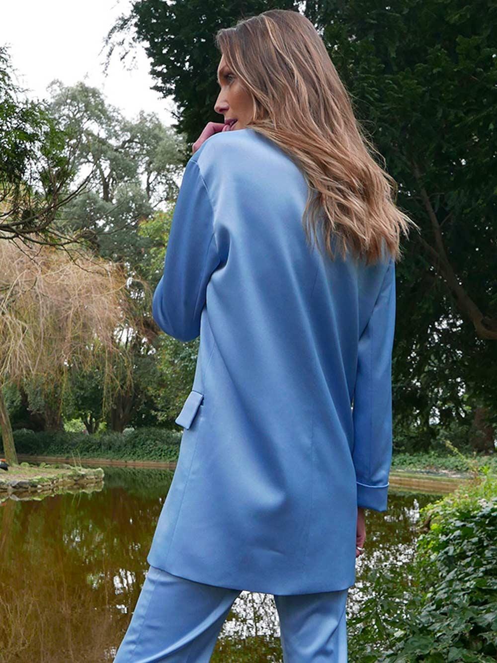 Blazer Azul - KAOÂ