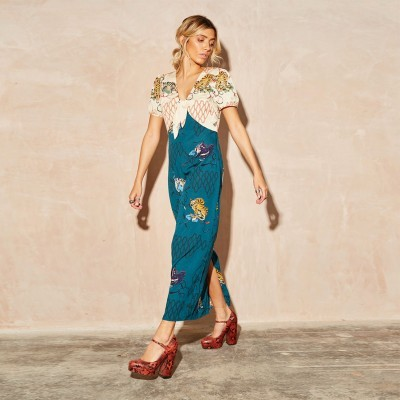 Tiger Chesca Maxi Dress - NEVER FULLY DRESSED