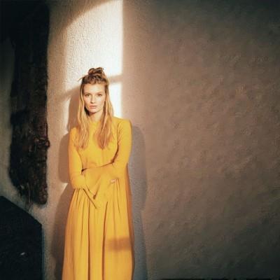 LIA LONG SLEEVE DRESS GOLD - AMUSE SOCIETY