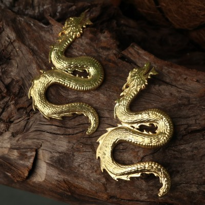 DRAGON EARRINGS XL - NATIA X LAKO