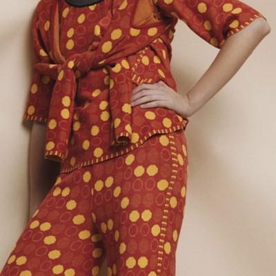Knitwear Jacquard 3/4 (sleeve) Sweater - SUSANA BETTENCOURT
