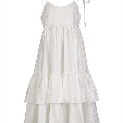 Misses Calm Dress - MISSES WHITE