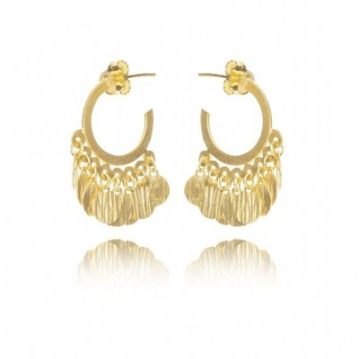 Argolas Golden - AIM JEWELLERY