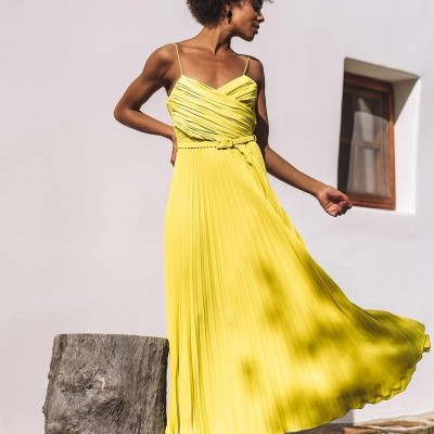 Vestido Limão Midi - KAOÂ