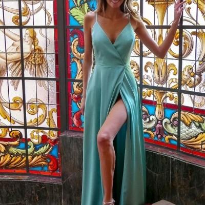 Vestido Verde Água - KAOÂ