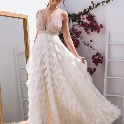 Vestido Branco Franjas - KAOÂ