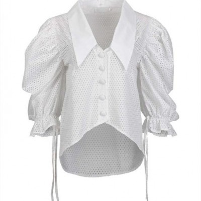 Misses Faithful Blouse - MISSES WHITE