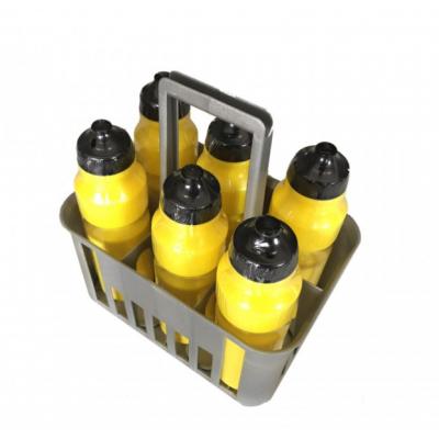 Cesto com 6 garrafas água (0,75 litro)