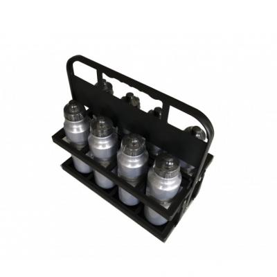 Cesto com 8 garrafas água (0,75 litro)