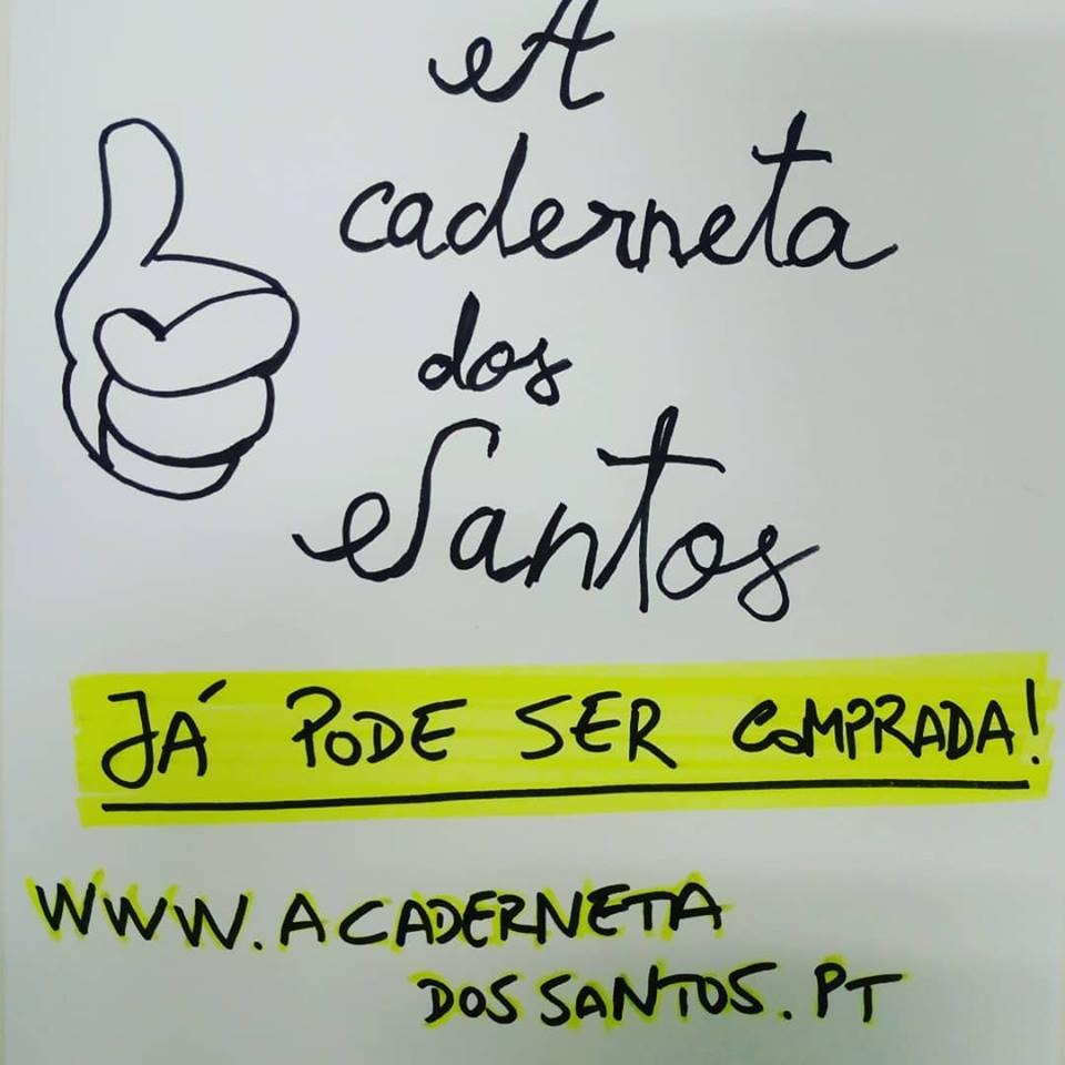 A caderneta dos Santos já pode ser comprada!