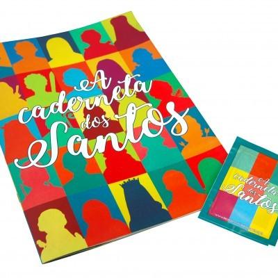 A caderneta dos Santos (oferta de uma saqueta de cromos)